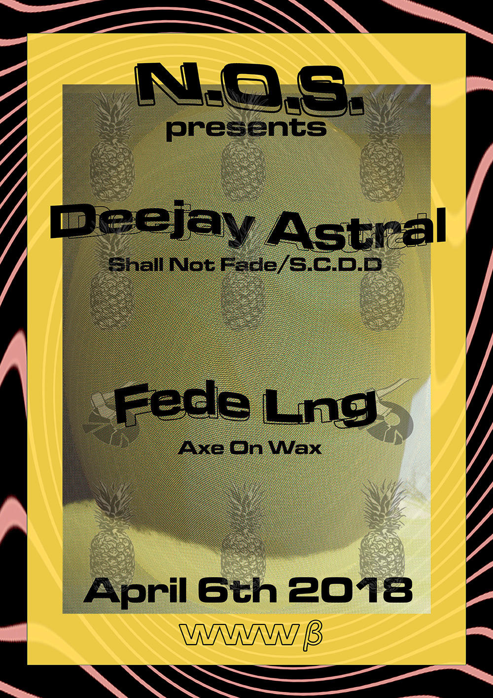 Deejay Astral / Fede Lng / KAZUHO & Frankie $ (N.O.S.) /and more